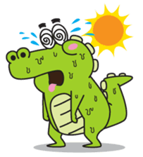 Roco the Crocodile sticker #1771411