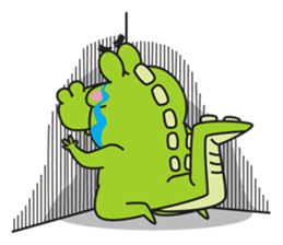 Roco the Crocodile sticker #1771415