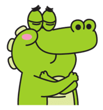 Roco the Crocodile sticker #1771416