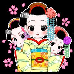 Maiko sticker