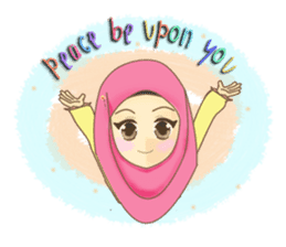 Maryam Sweetie Hijab sticker #1779249