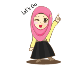 Maryam Sweetie Hijab sticker #1779250