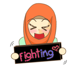 Maryam Sweetie Hijab sticker #1779263