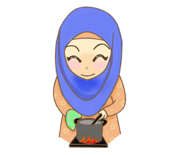 Maryam Sweetie Hijab sticker #1779267