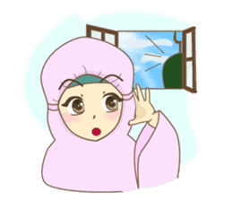 Maryam Sweetie Hijab sticker #1779277
