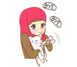 Maryam Sweetie Hijab sticker #1779283