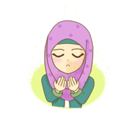 Maryam Sweetie Hijab sticker #1779284
