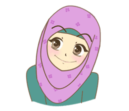Maryam Sweetie Hijab sticker #1779286