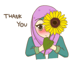 Maryam Sweetie Hijab sticker #1779288