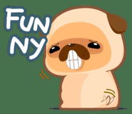 Pug You (En) sticker #1787871