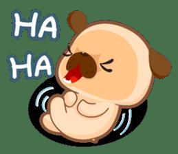 Pug You (En) sticker #1787872
