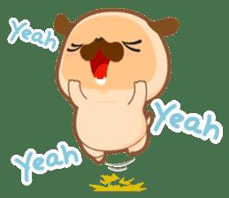 Pug You (En) sticker #1787873