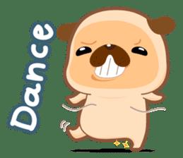 Pug You (En) sticker #1787874