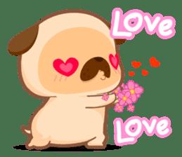 Pug You (En) sticker #1787879