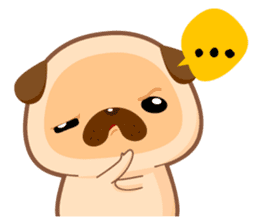 Pug You (En) sticker #1787891