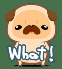 Pug You (En) sticker #1787892