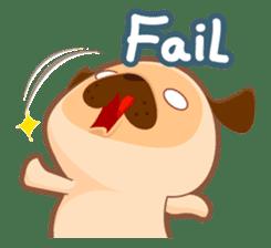 Pug You (En) sticker #1787894