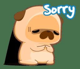 Pug You (En) sticker #1787895