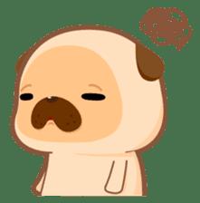 Pug You (En) sticker #1787897