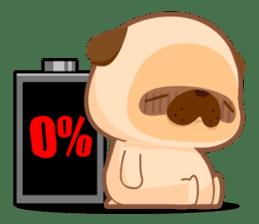 Pug You (En) sticker #1787902