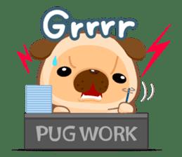 Pug You (En) sticker #1787904