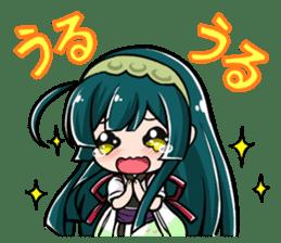 Tohoku Zunko lovely days sticker #1790843