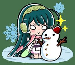 Tohoku Zunko lovely days sticker #1790857