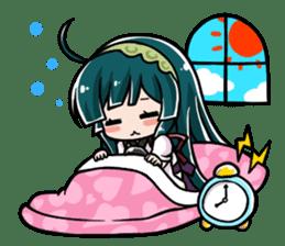 Tohoku Zunko lovely days sticker #1790864