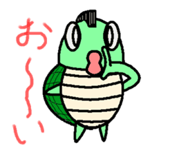 Mohican Turtle sticker #1793006