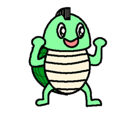 Mohican Turtle sticker #1793007