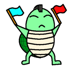 Mohican Turtle sticker #1793008