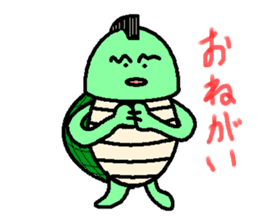 Mohican Turtle sticker #1793016