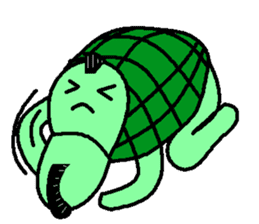 Mohican Turtle sticker #1793021