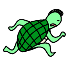 Mohican Turtle sticker #1793027
