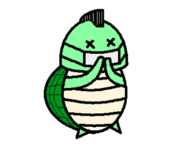 Mohican Turtle sticker #1793030
