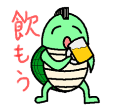 Mohican Turtle sticker #1793031