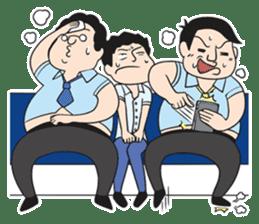 The Train People in Japan sticker #1795323