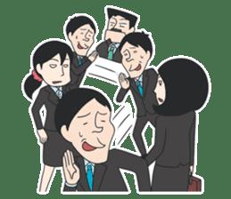 The Train People in Japan sticker #1795340