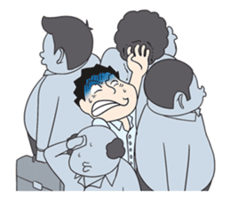 The Train People in Japan sticker #1795345