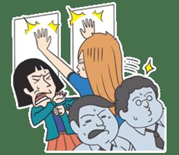 The Train People in Japan sticker #1795347