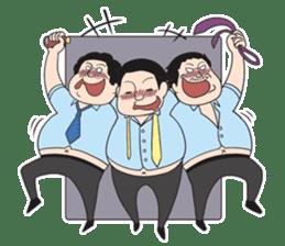The Train People in Japan sticker #1795352