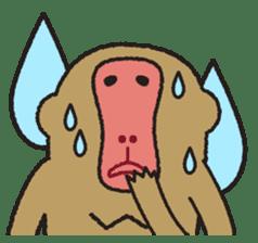 Mango monkey  English version sticker #1798422