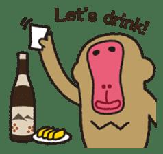 Mango monkey  English version sticker #1798433