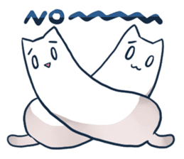 Nyan Nyan White Nyan sticker #1800842
