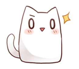 Nyan Nyan White Nyan sticker #1800843