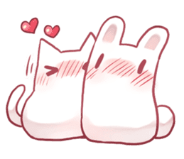 Nyan Nyan White Nyan sticker #1800849