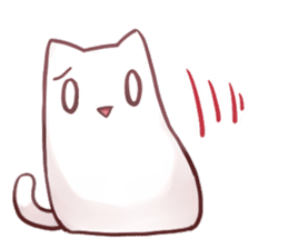 Nyan Nyan White Nyan sticker #1800854