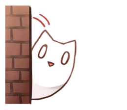 Nyan Nyan White Nyan sticker #1800855