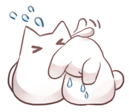 Nyan Nyan White Nyan sticker #1800862