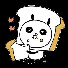 Panda bread sticker